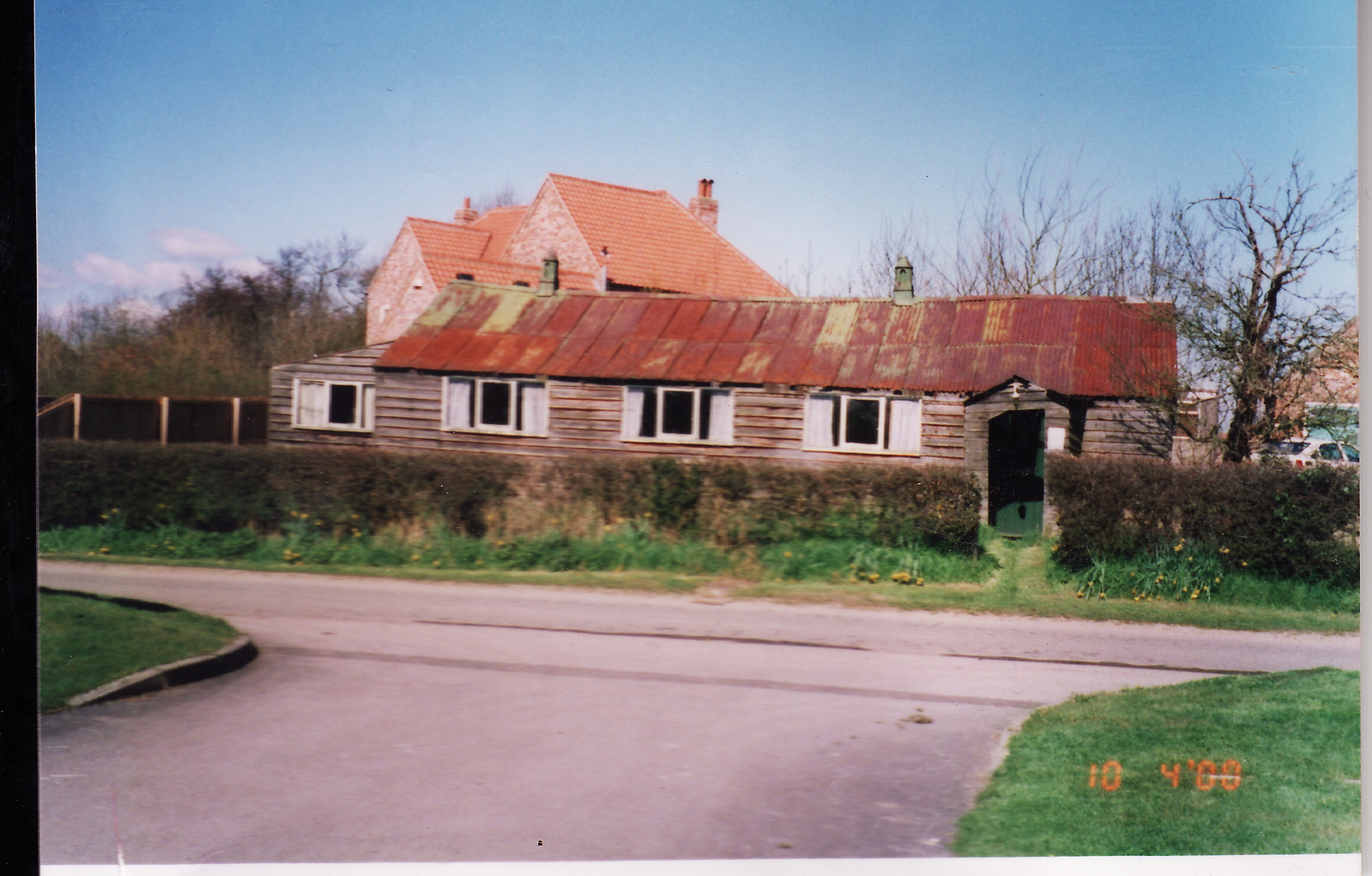 Old Village Hall at Gautby prior to demolishing in 2001