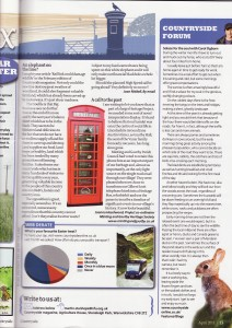 Kiosk in Countryside Mag